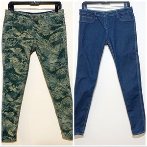 CultofIndividuality Teaser Reversible Skinny Jeans